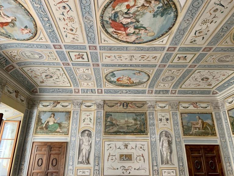 Appartamento<br>Affrescato a Siena
