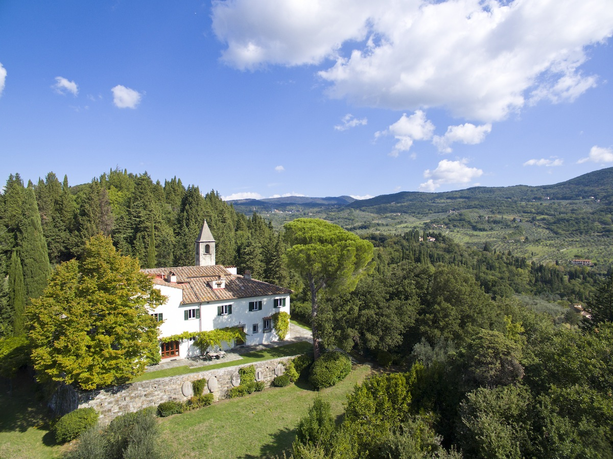 Historic villa<br>in Fiesole