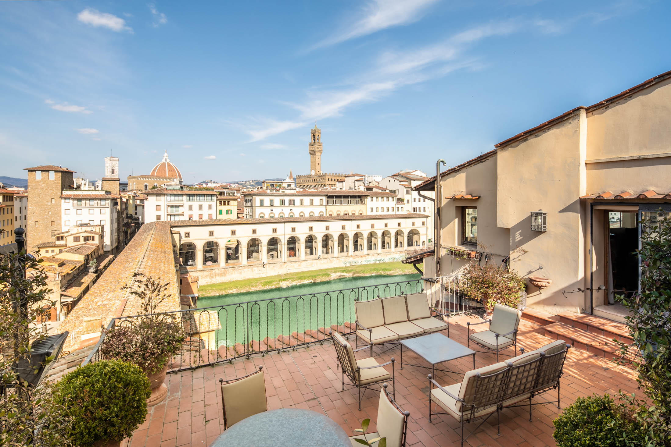 Penthouse <br>on Ponte Vecchio