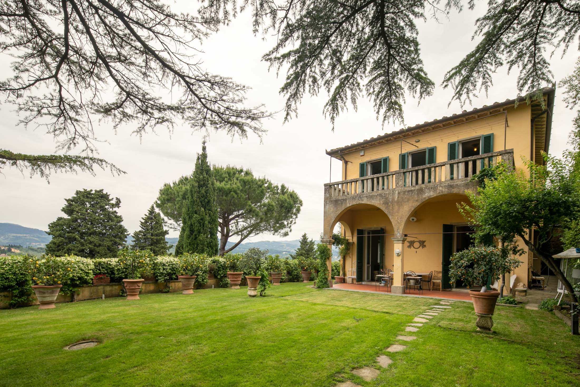 Property with Villa and annex<br> in Fiesole