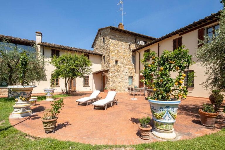 Villa con Piscina<br> a Bellosguardo