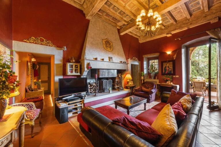 Appartamento in Villa<br> con Piscina privata